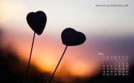 Calendar May WallPaper 1280X800