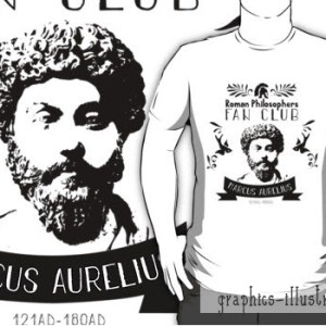 Making Of Marcus Aurelius Fan Club Logo & A TShirt