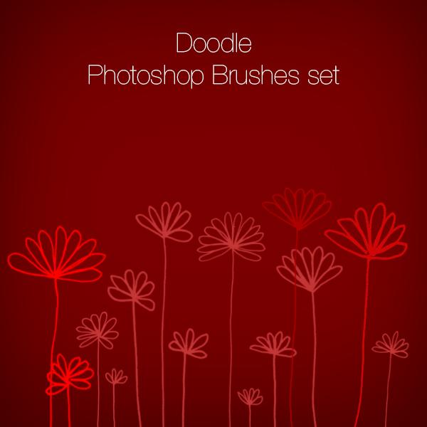 Doodle Photoshop Brushes