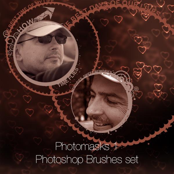 Photomasks Set 1 Photoshop Brushes