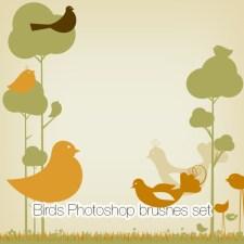 Birds Photoshop Brushes