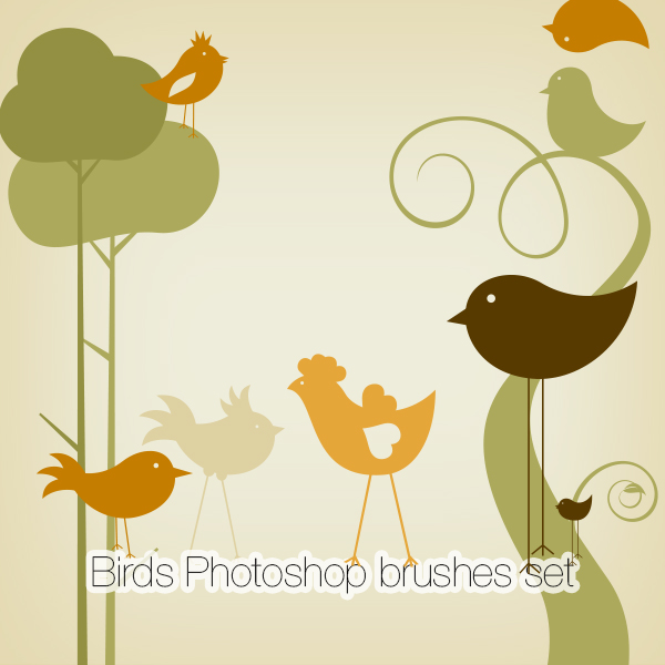 Birds Photoshop Brushes