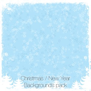 Christmas / New Year Backgrounds Pack