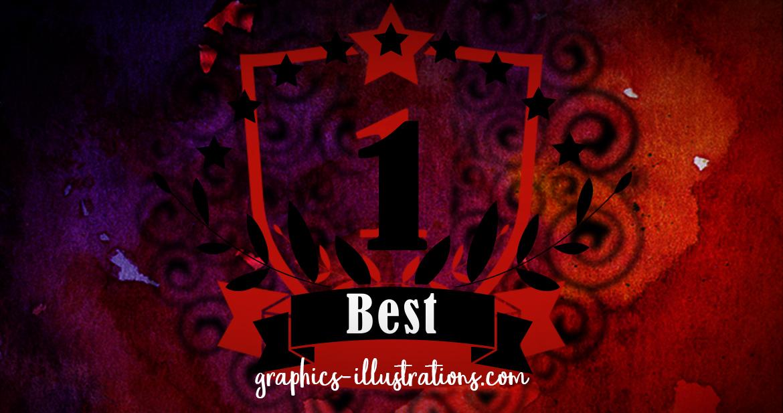 No. 1 Emblem Photoshop brushes Free Download