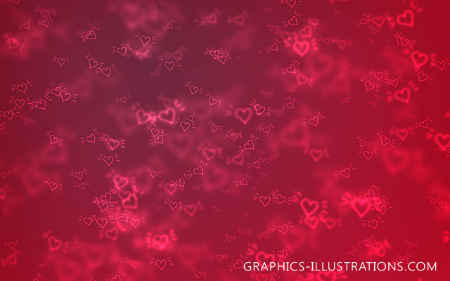 Valentine's Day Backgrounds (Digital Paper Pack)