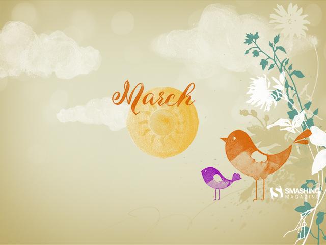 Spring Is Coming! Desktop Wallpaper