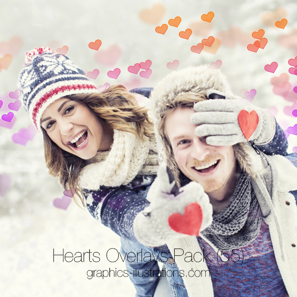 Hearts Overlays Pack (55)