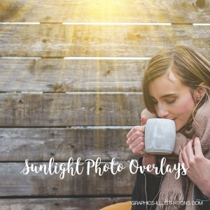 Sunlight Photo Overlays, Sunbeams Overlays