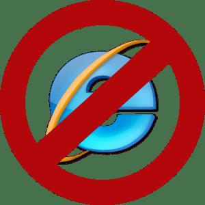 Avoid Internet Explorer