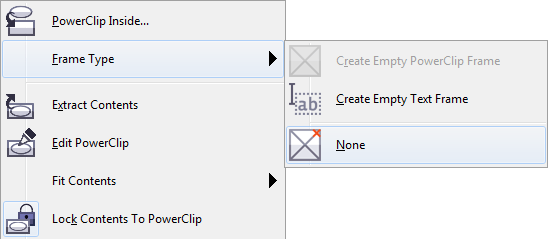 Getting Rid of the X in CorelDRAW PowerClip Frames - Graphics ...