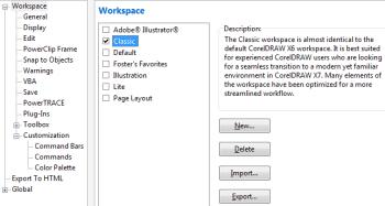 Make CorelDRAW X7 More Like Previous Versions