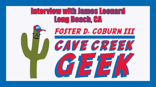 Cave Creek Geek Interviews James Leonard