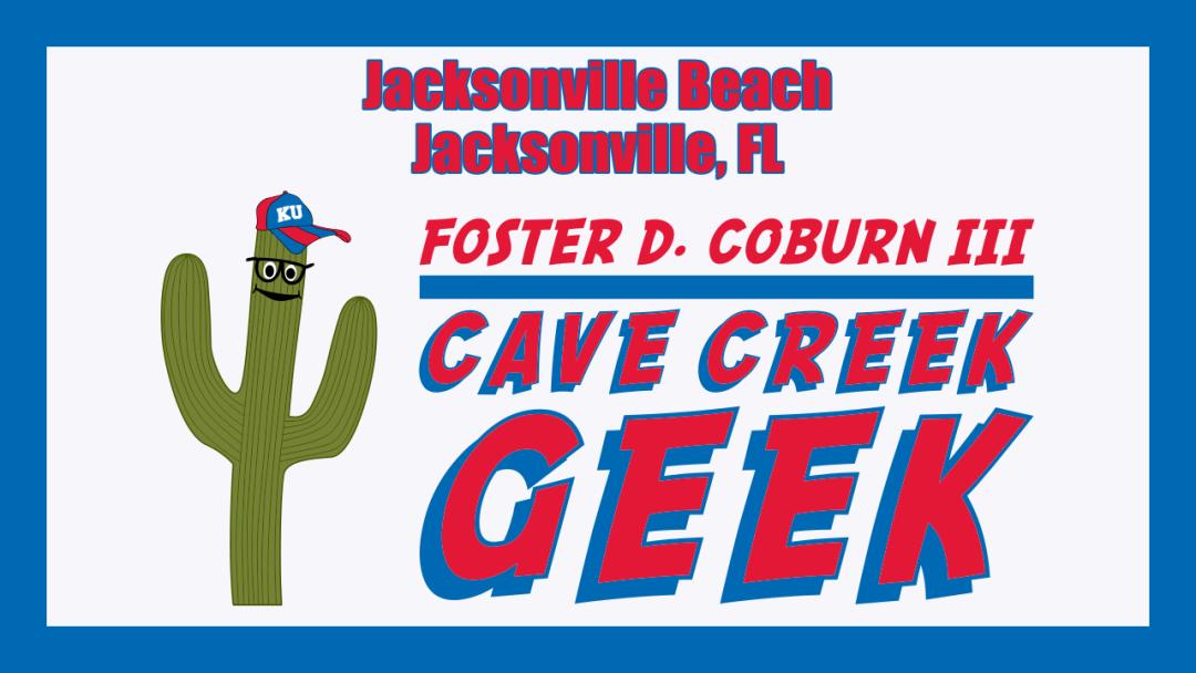 Cave Creek Geek Visits Jacksonville Beach