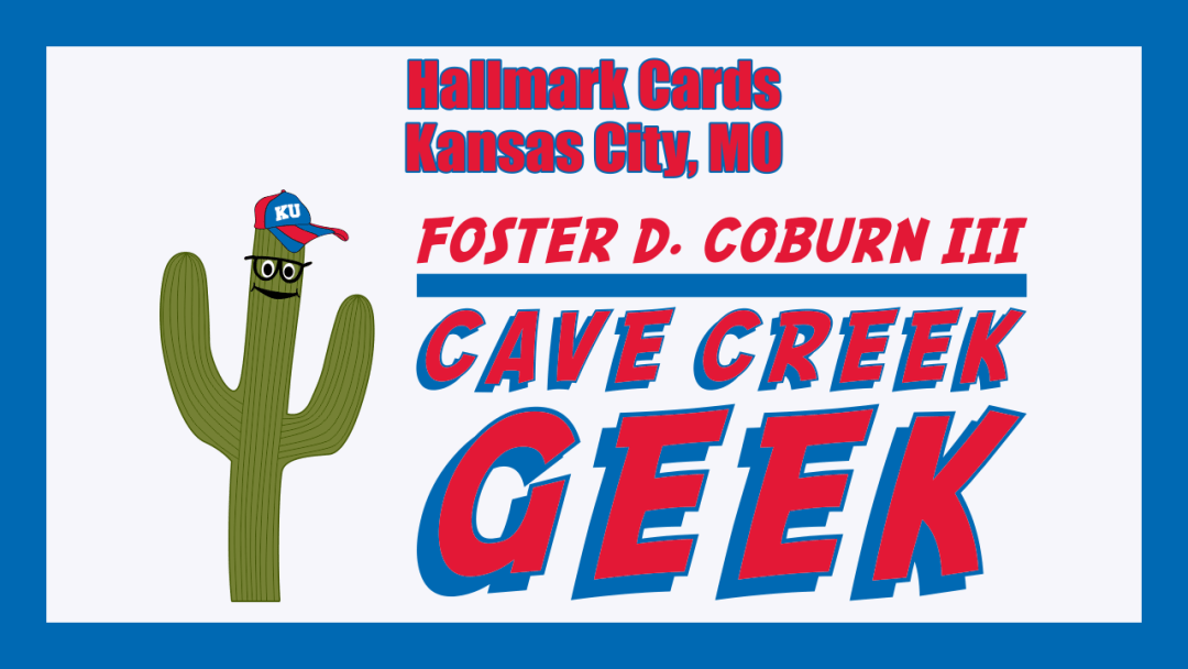 Cave Creek Geek Visits Hallmark Cards in Kansas City, MO