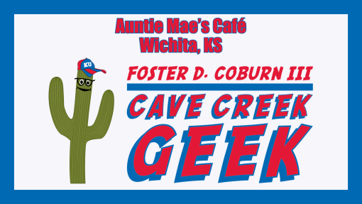 Cave Creek Geek Dines at Auntie Mae's Cafe