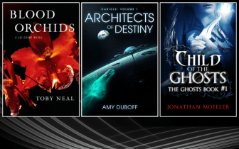 Three Free Kindle Books on Murder, Space and Ghosts
