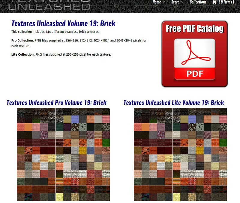 Seamless Textures Web Site Makeover With New WordPress Theme
