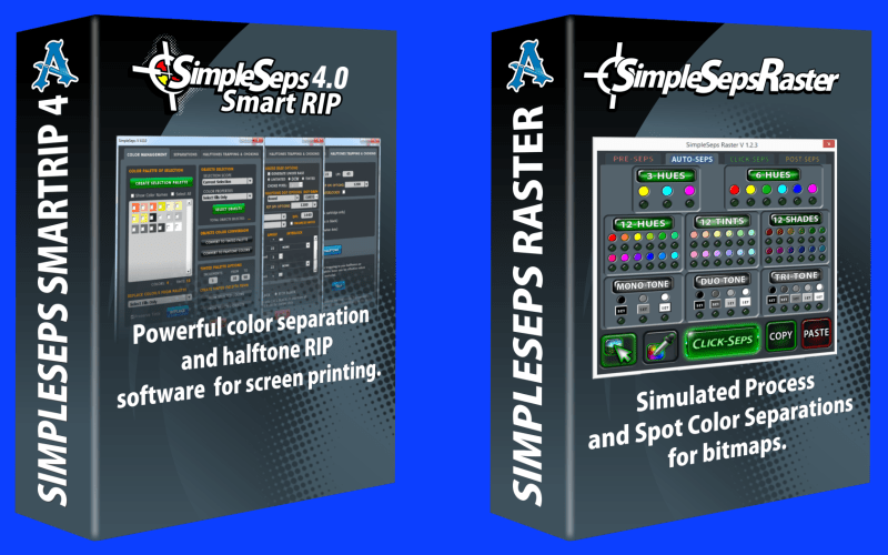 SimpleSeps SmartRIP and SimpleSeps Raster Updated for CorelDRAW X8