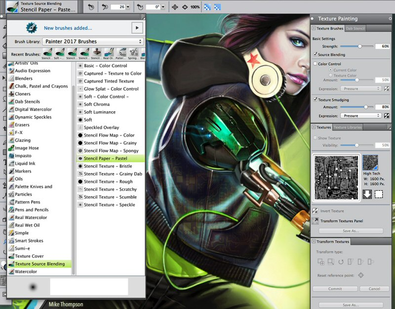 Corel Painter 2017: New Brushes and Customized Workflows Set the Standard for Digital Art Software