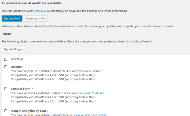 wordpress-updates-needed