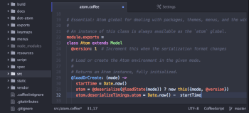 Atom Hackable Text Editor Powerful Free Web Design Tool