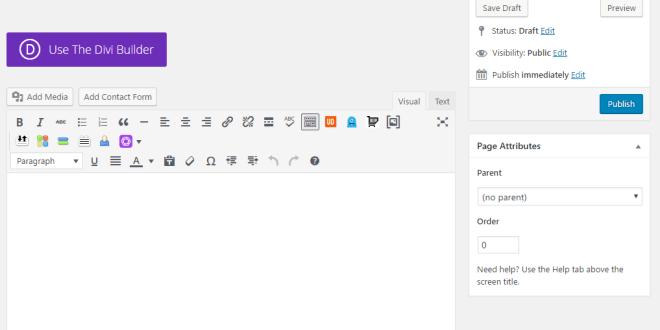 Building a WordPress Site