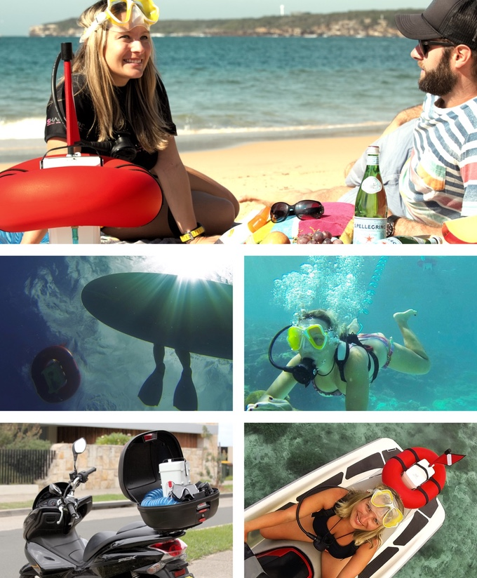 Air Buddy Diving : buddy, diving, AirBuddy, Tankless, Portable, Scuba, Diving, Graphics, Unleashed