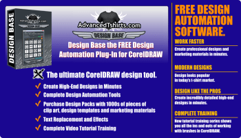 Design Base Automation Plug-In Now Supports CorelDRAW 2017
