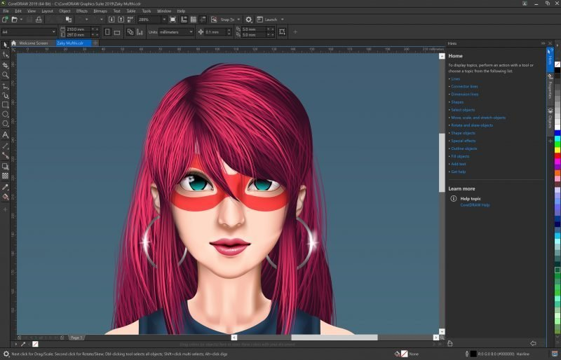 With 30 years of graphics innovation, CorelDRAW Graphics Suite 2019 offers new features to empower the creation of bold, attention-grabbing graphics with pixel-perfect precision.