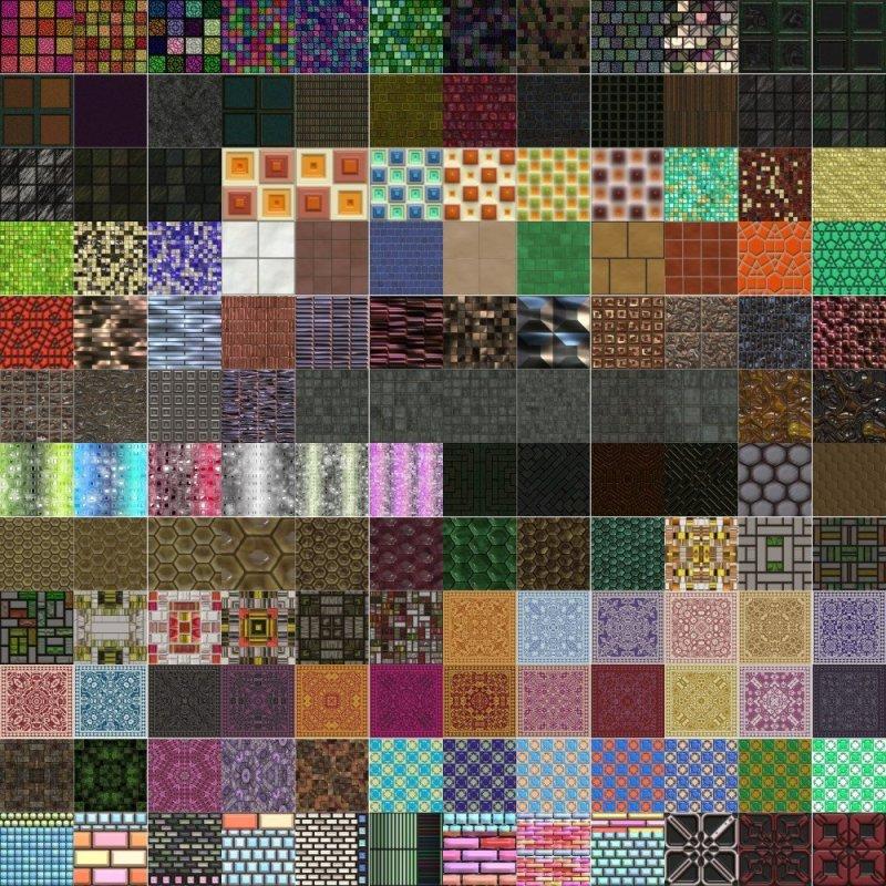 Seamless Tiles Textures