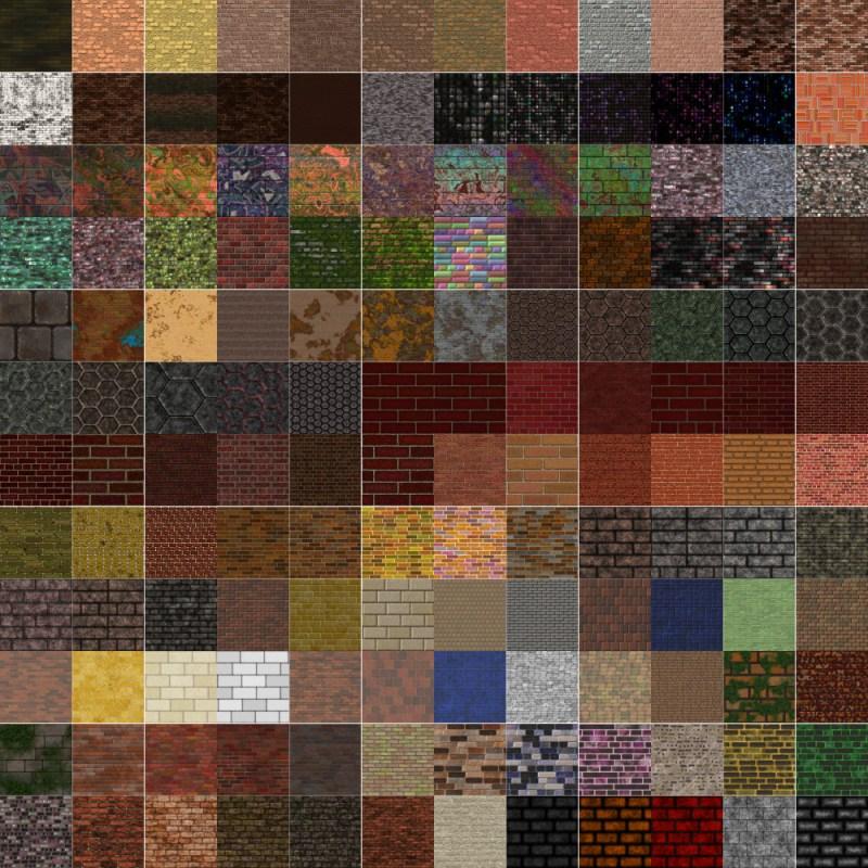 Textures Unleashed Volume 35: Brick III