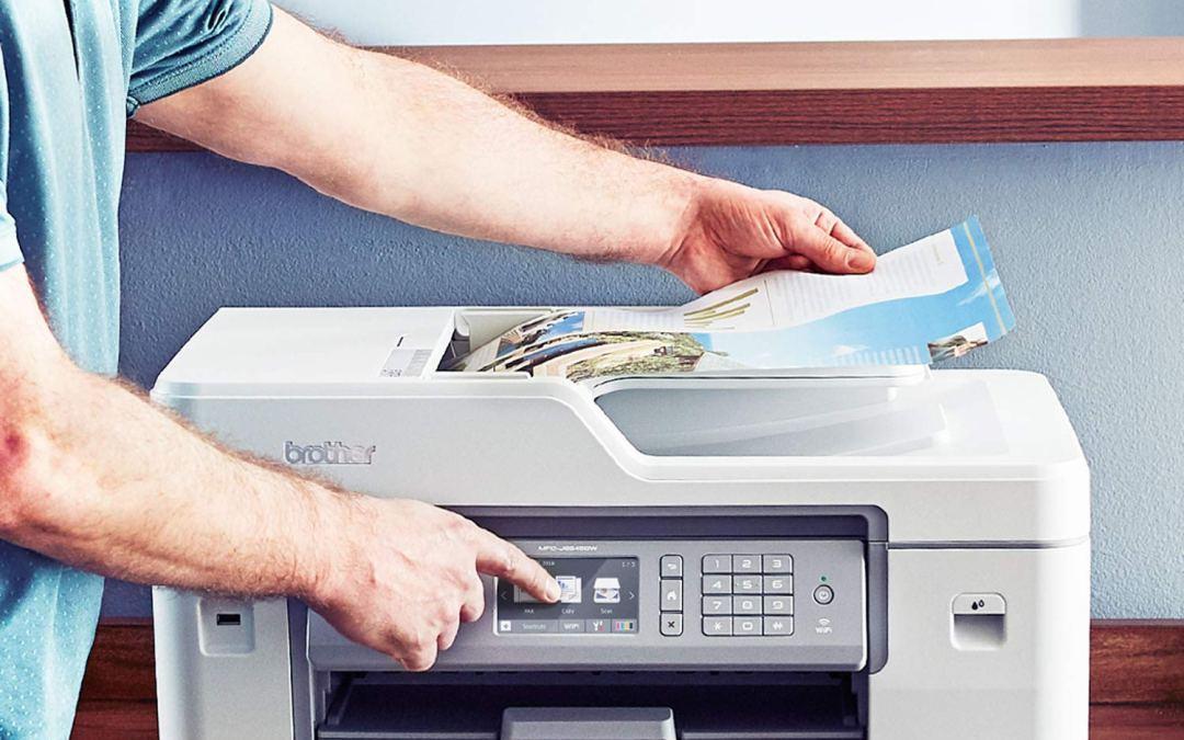 Brother MFC-J6545DW INKvestmentTank Color Inkjet All-in-One Printer