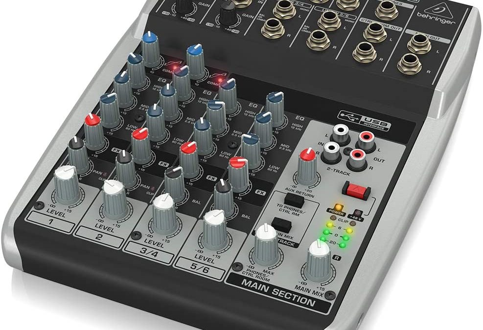 Behringer Xenyx Premium 8-Input 2-Bus Mixer