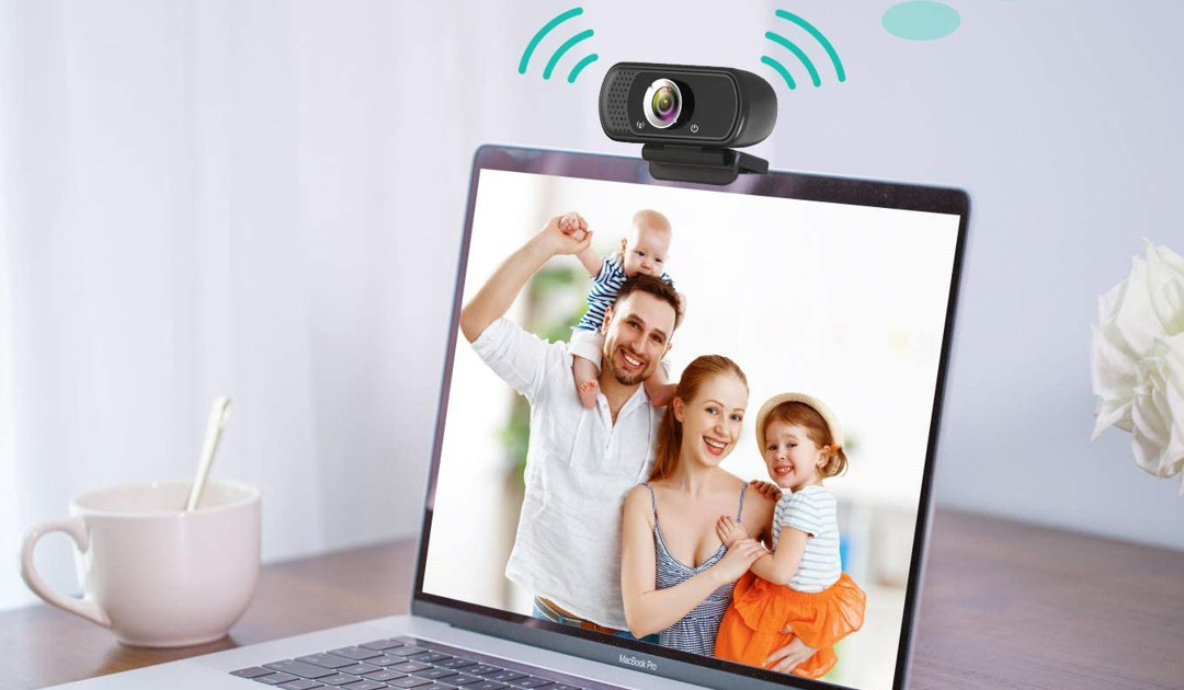 HD Webcam 1080P with Microphone