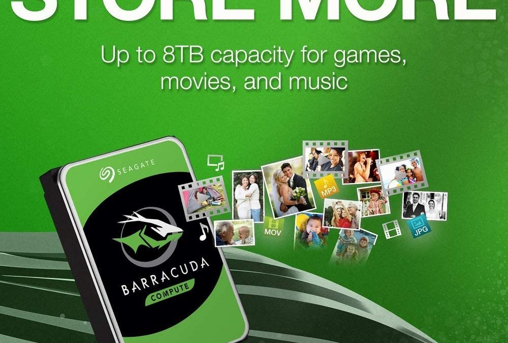 Increase Your Storage With Seagate Barracuda Drives