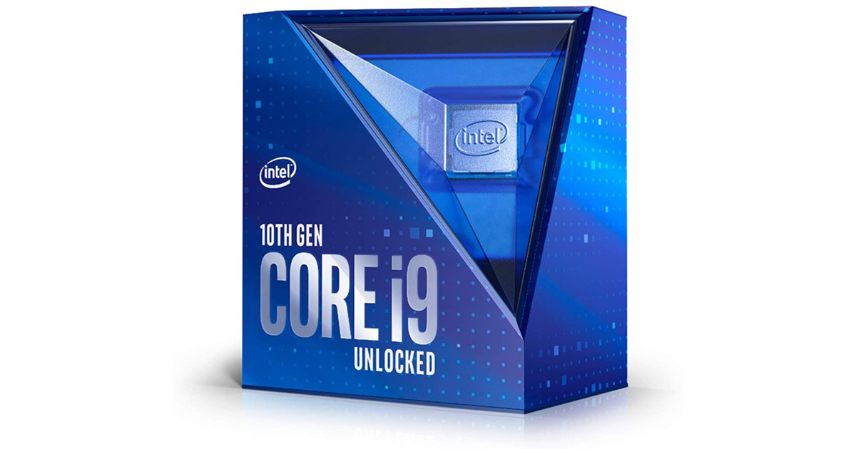 Intel Core i9-10900K Desktop Processor 10 Cores up to 5.3 GHz Unlocked
