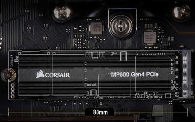 Corsair Force Gen.4 MP600 SSDs Provide Very Fast Storage