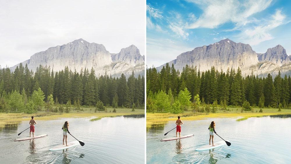 Adobe Sensei Perfect Landscapes