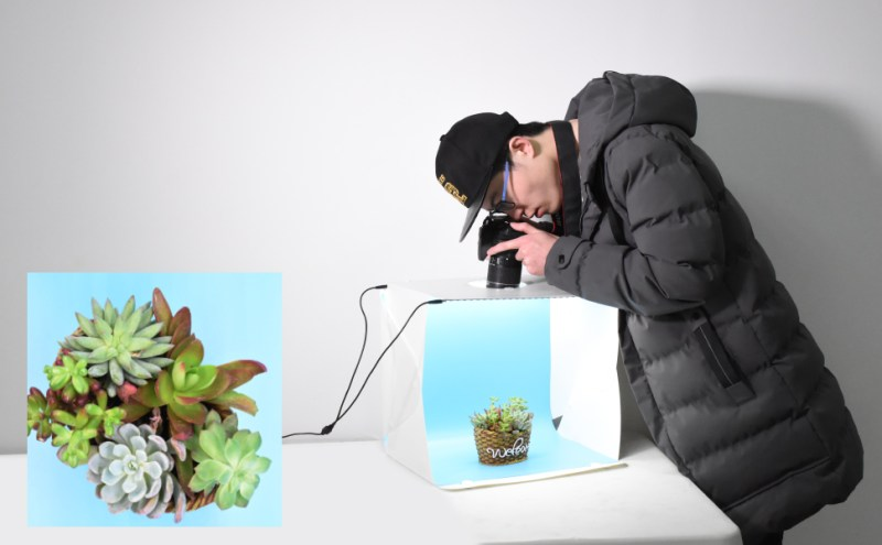 Emart Photography LED Table Top Lighting Tent