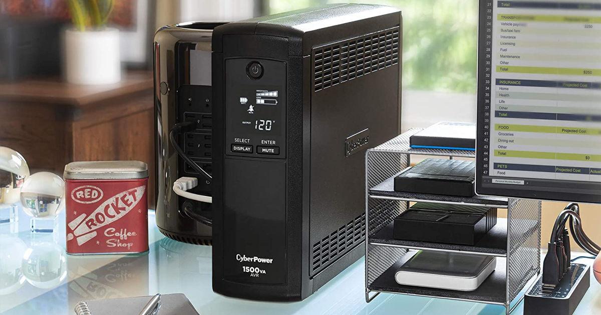 CyberPower CP1500AVRLCD Intelligent LCD UPS System