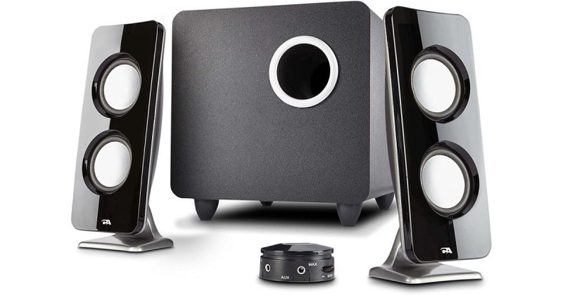 Cyber Acoustics 62W 2.1 Stereo Speaker with Subwoofer