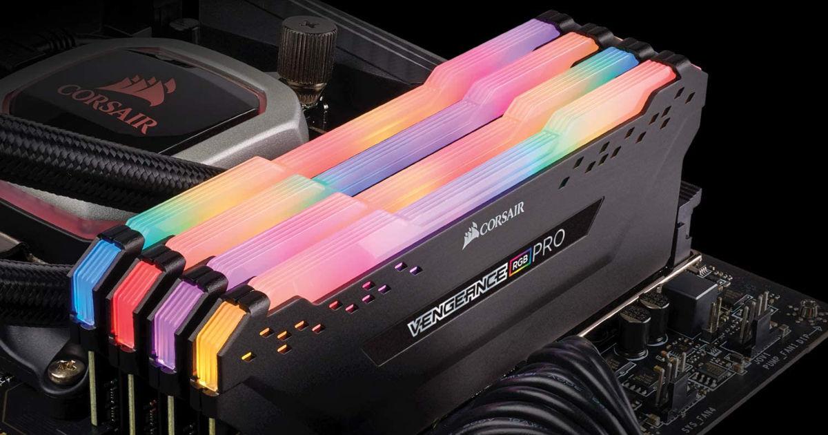 Corsair Vengeance RGB Pro 32GB (2x16GB) DDR4 2933 (PC4-23400) C16 Desktop Memory