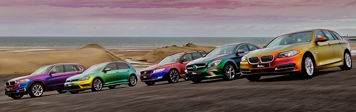 Avery Dennison Adds New ColorFlow™ Iridescent Supreme Wrapping Film   Avery Dennison   Graphics