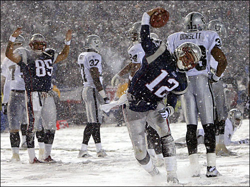 Tom Brady in the Snow Bowl
