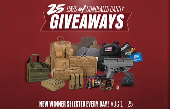 Springfield Armory's 25 Days of Concealed-Carry Giveaways