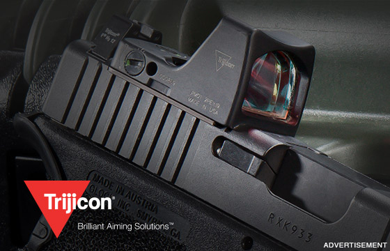 The new Trijicon RMR� Type 2. The ultimate concealed carry red dot.