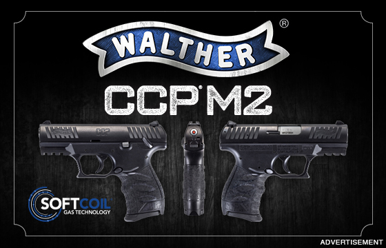 The New Walther CCP M2 Redefines Everyday Carry.