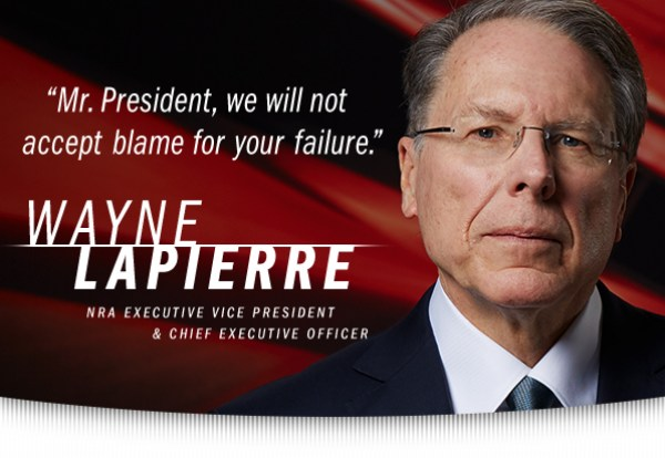 Mr. President, We will not accept blame for your failure