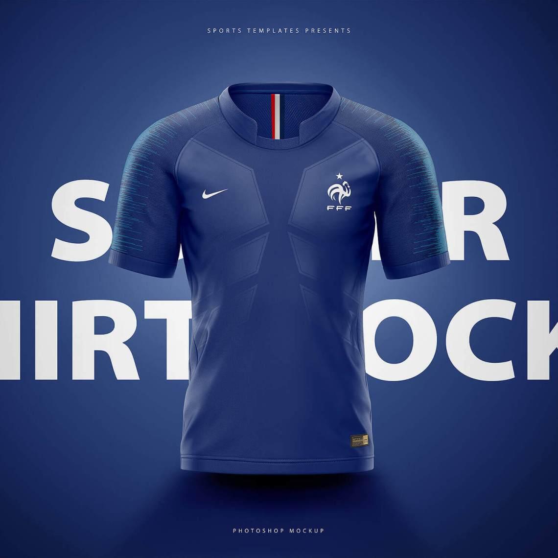 Download Football, Soccer jersey builder template V.1 - Sports ...
