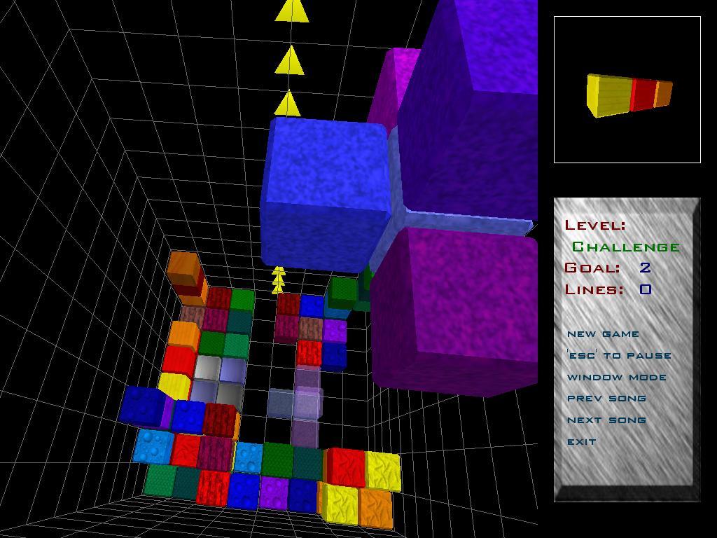 First Person Tetris?